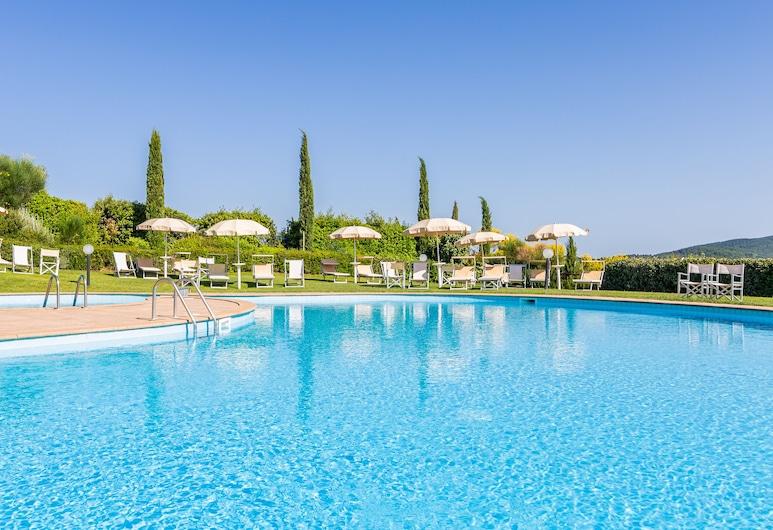 Tenuta Quadrifoglio, Gambassi Terme, Εξωτερική πισίνα
