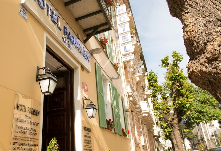 Parisien, Nizza, Hotelfassade