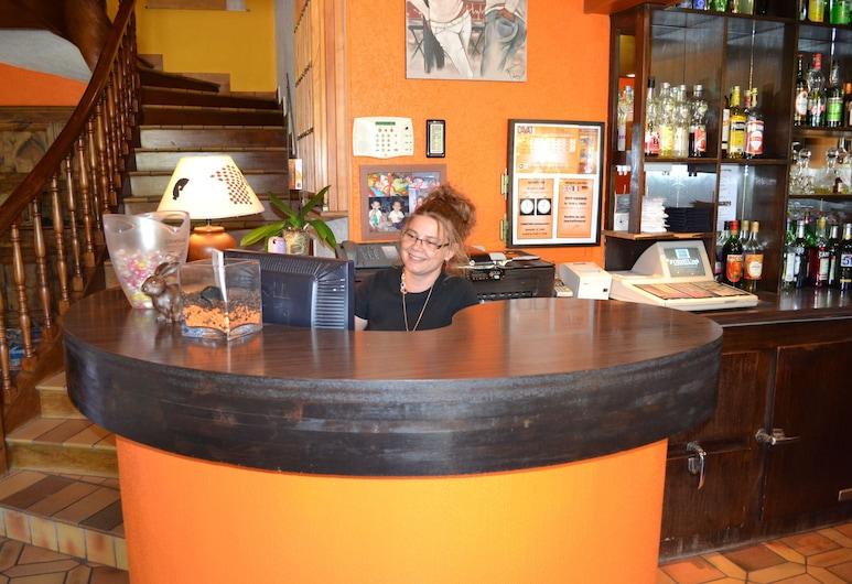 Hôtel Restaurant Davat, Aix-les-Bains, Reception