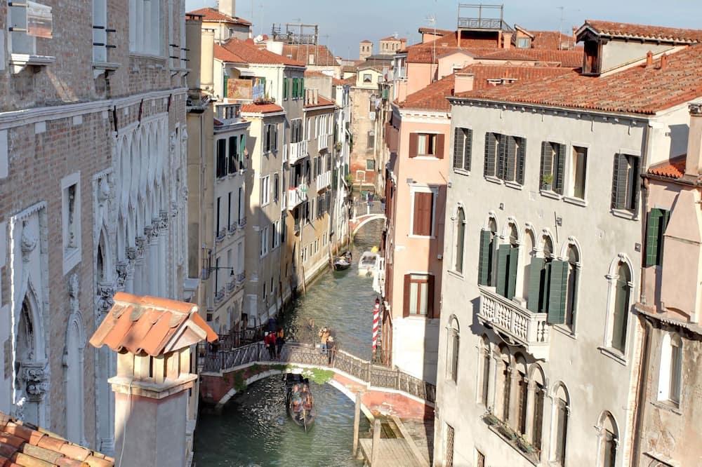 四人房, 露台, 運河景 - 陽台