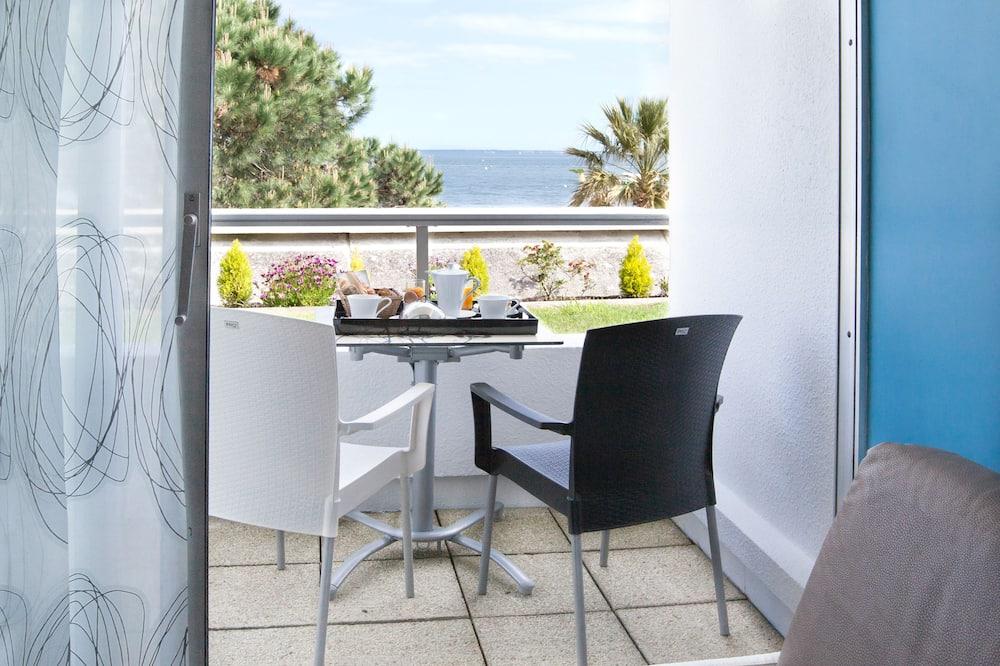 豪華雙人房, 海景 - 露台景觀