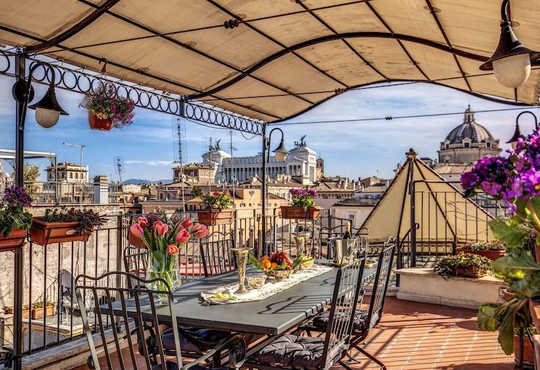 Pantheonview - Luxury Suites, Rooma, Terassi/patio