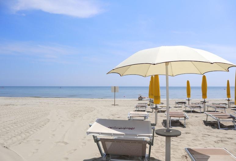 Hotel Corallo, Равенна, Пляж