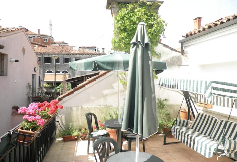 Al Campaniel, Venedig, Terrasse/Patio