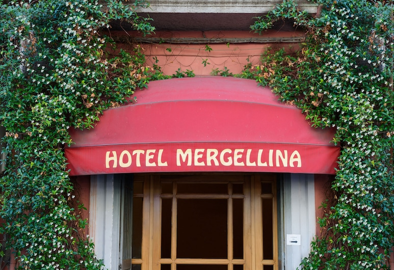 Mergellina, Napoli, Hotellinngang