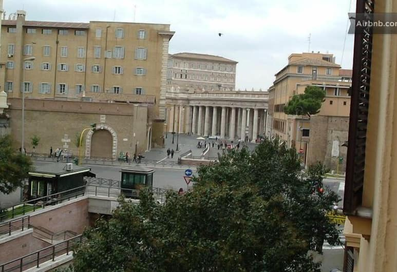 All'Ombra del Cupolone, Rome, View from Hotel