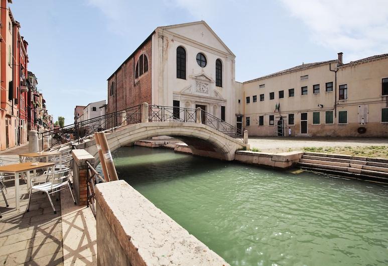 Bed & Breakfast Giardini, Venedig, Ferienhaus, 1 Doppelbett, Kochnische, Blick auf die Stadt