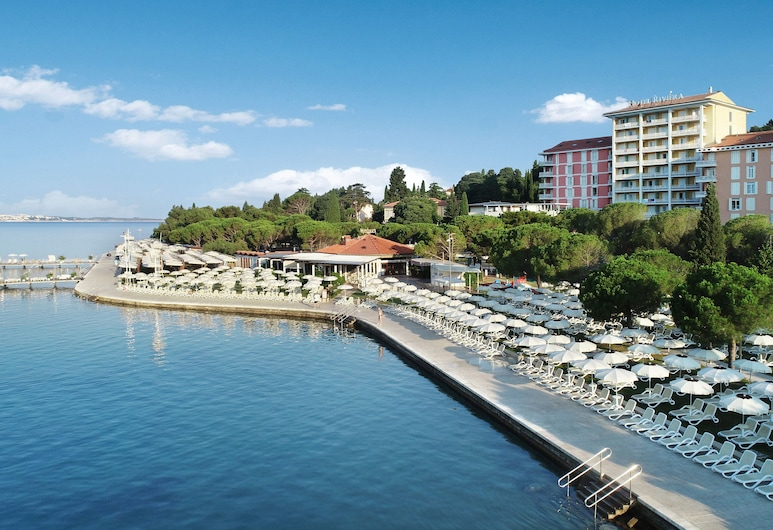 Hotel Riviera - LifeClass Hotels & Spa, Piran, Pláž