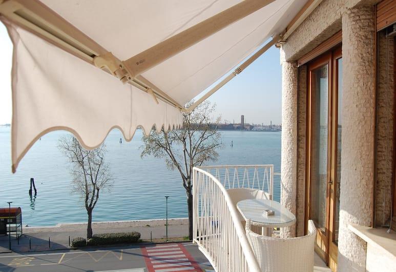 오아시스 라군 & 레지던스, 베네치아, 이그제큐티브 스위트, 퀸사이즈침대 1개, 발코니, 바다 전망, 발코니