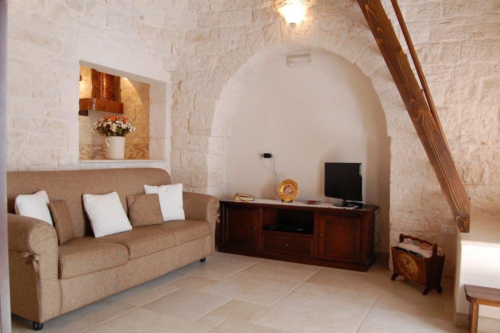 Pokoj, 2 ložnice (Trullo) - Obývací prostor