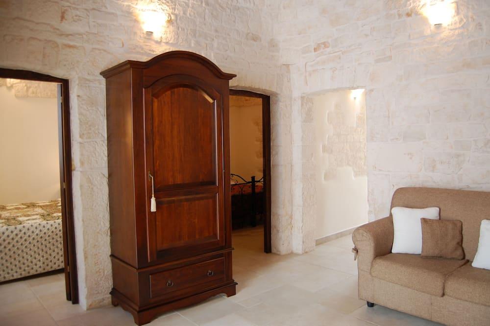 Pokoj, 2 ložnice (Trullo) - Obývací pokoj