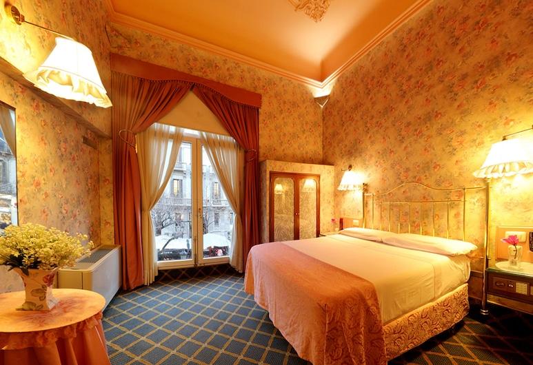 Hotel Continental Palacete, Barcelona, Dobbeltrom for 1 person (Compaq), Gjesterom