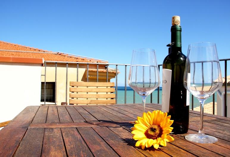 Le Case del Girasole A/B/C, Cefalù, Apartment, 1 Bedroom, Terrace, Sea View (Kitchen), Room