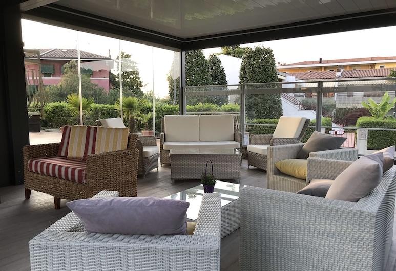 Hotel Villa Rosa, Sirmione, Terrazza/Patio