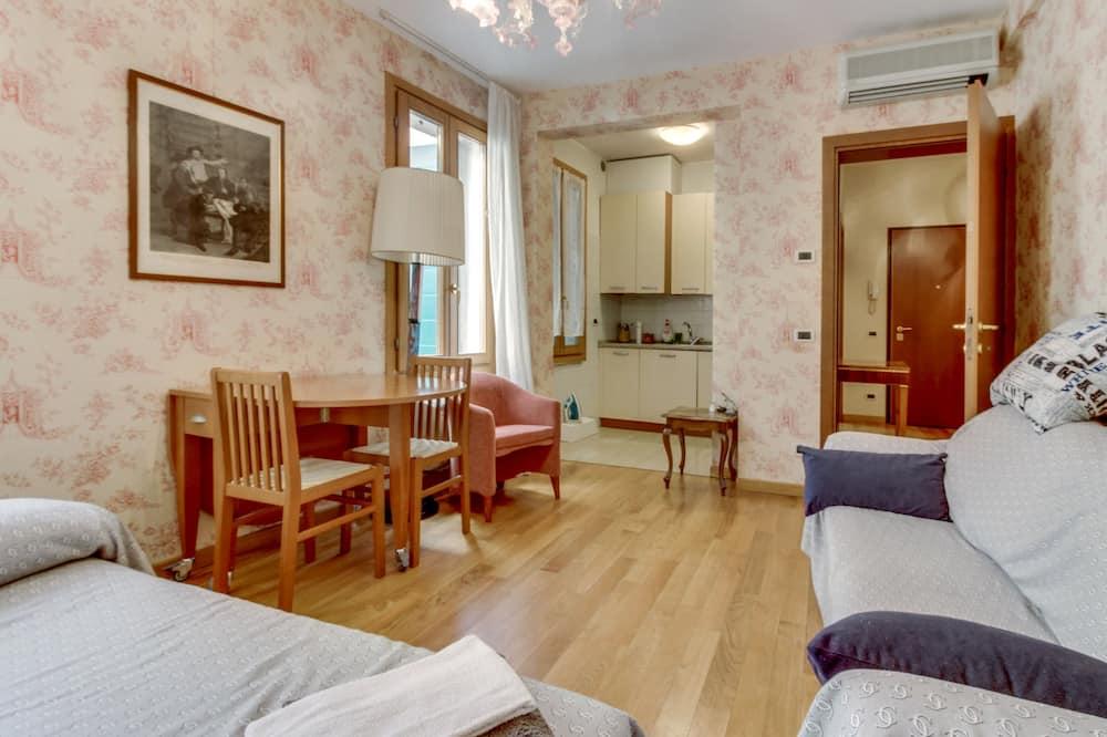 Standartinio tipo apartamentai - Svetainės zona