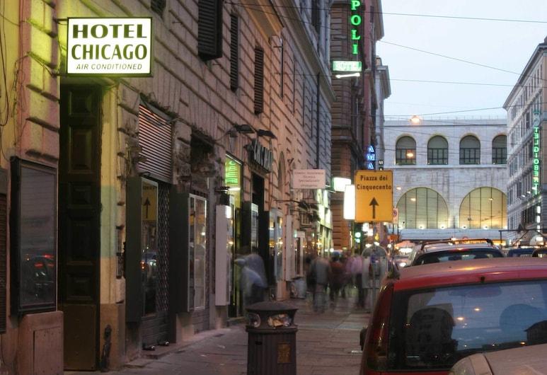 Hotel Chicago, Rome, Hotel Entrance