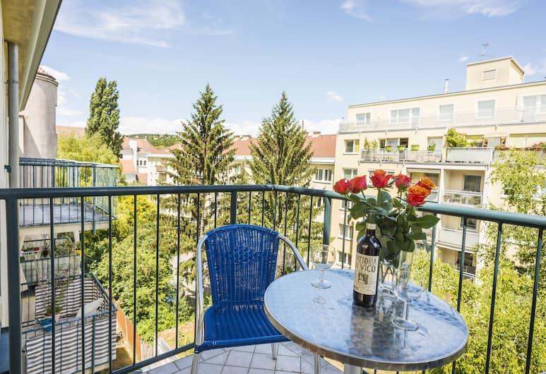 Appartements Ferchergasse, Vienna, Studio, Balcony (2 people - Dr. Josef Resch Platz 15a), Balcony