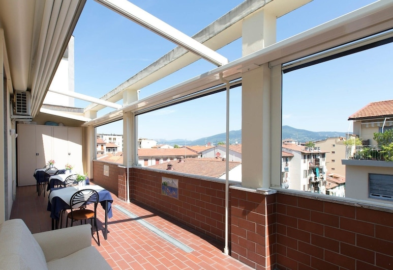 Il Grillo di Firenze, Florence, Double Room, City View, Porch
