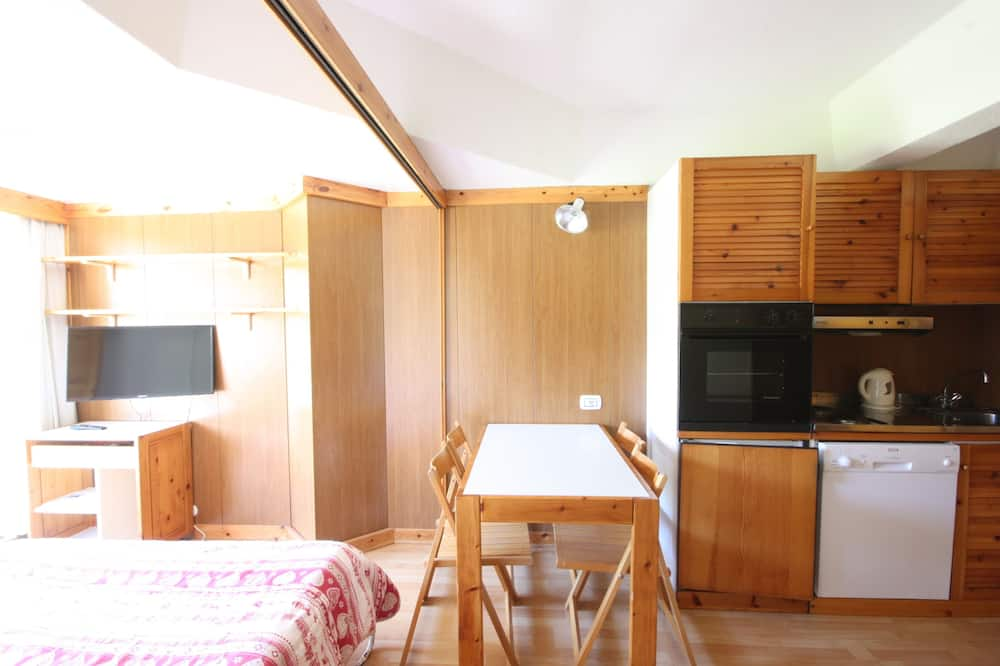 Apartmán, 1 ložnice (4 people) - Obývací prostor