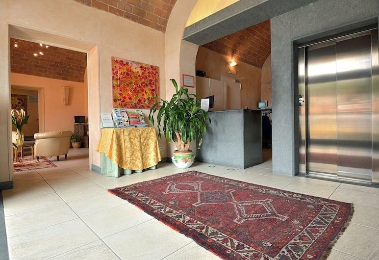 Hotel La Colonna, Siena, Reception