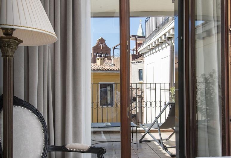 Hotel Casa Verardo Residenza d'Epoca, Venedig, Deluxe-Doppelzimmer, Ausblick vom Zimmer