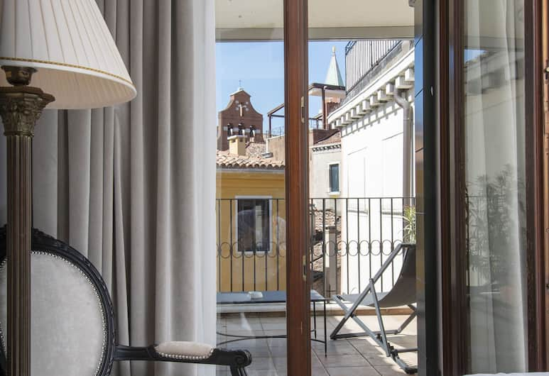 Hotel Casa Verardo Residenza d'Epoca, Veneetsia, Deluxe kahetuba, Vaade toast