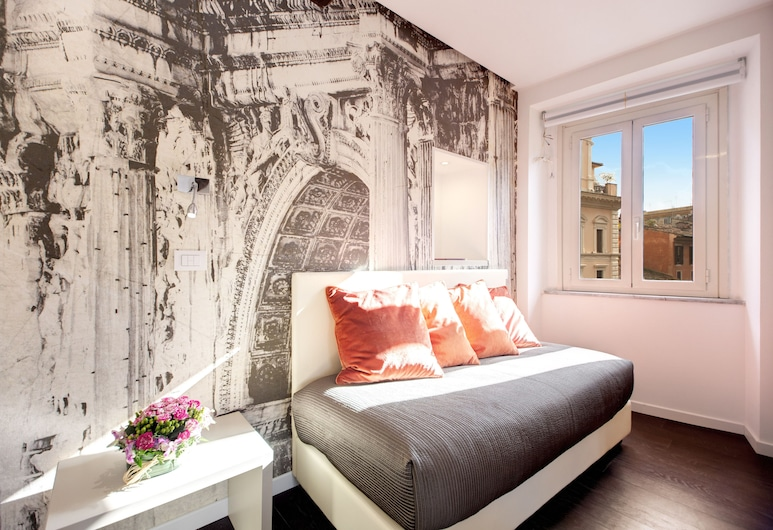 Hotel Abruzzi, Rome, Suite Junior (Pantheon View), Chambre