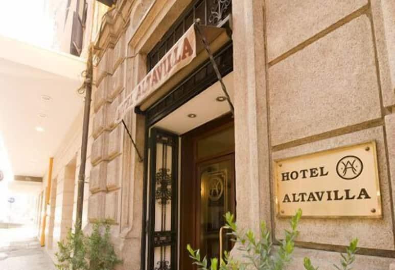 Hotel Altavilla, Roma, Esterni