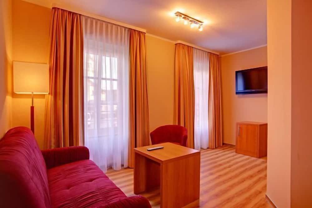 Familieværelse - 1 soveværelse - Opholdsområde