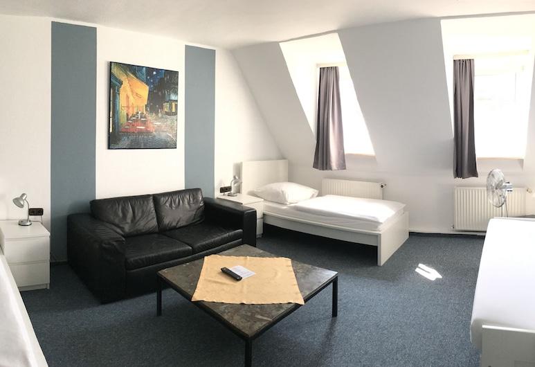 Hotel Jakoberhof, Augsburg, Leilighet, Gjesterom