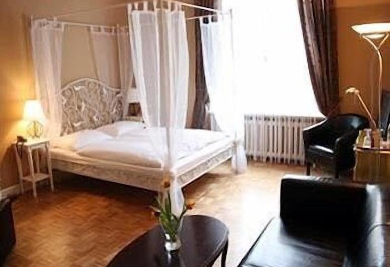 Hotel Maison Am Olivaer Platz, Berlynas, Svečių kambarys