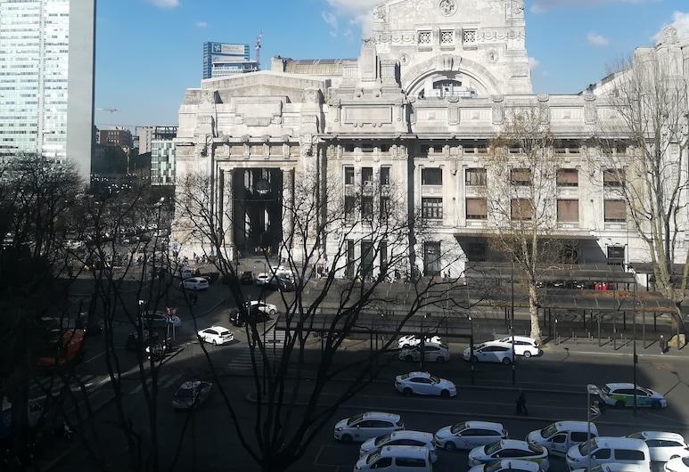 Hotel Bristol, Milán, Výhled z hotelu
