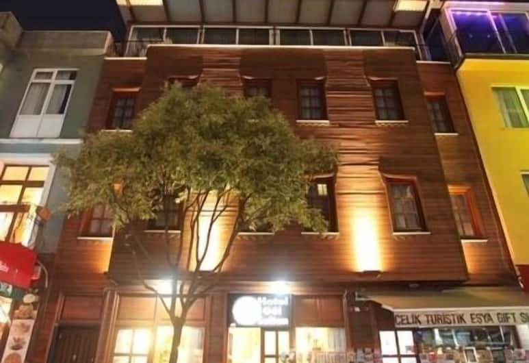 Hotel Gul Sultan, Istanbul, Hotellets front – kveld/natt