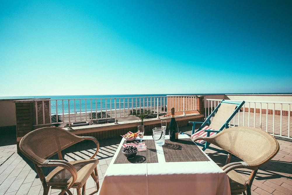 Kamar Double, pemandangan laut - Teras/Patio
