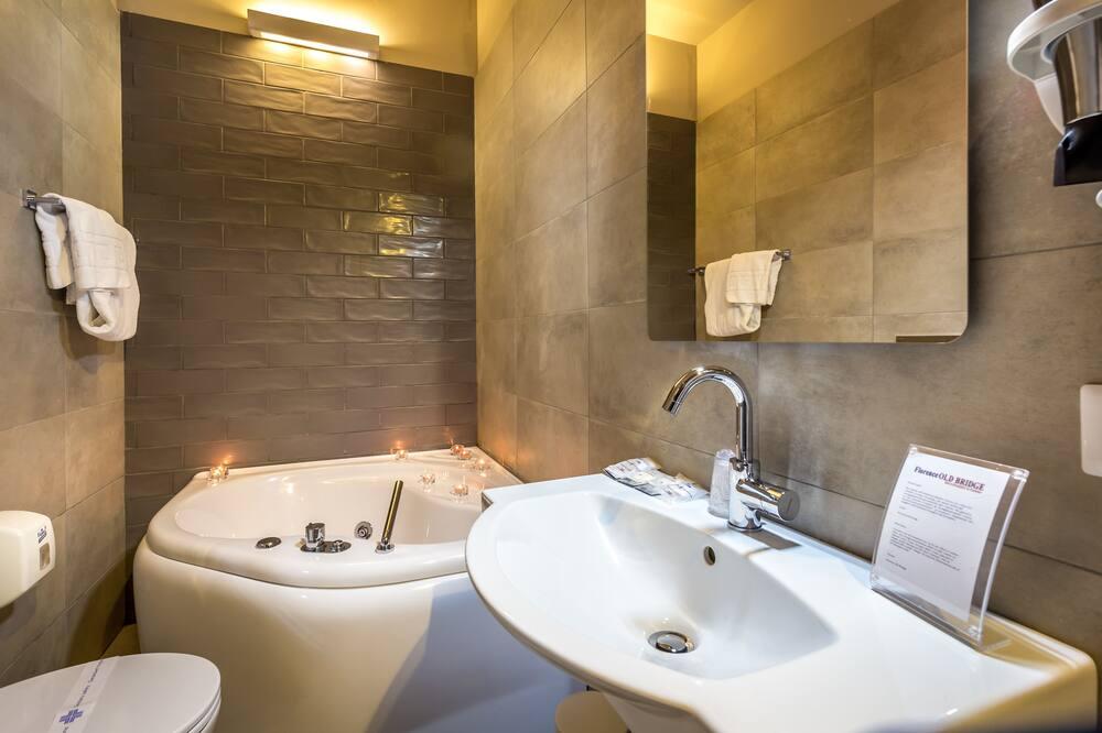 豪華雙人房, 1 張加大雙人床 - 浴室