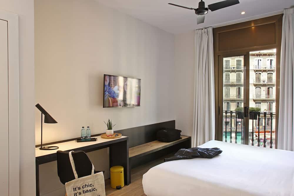 Dvojlôžková izba typu Superior, 1 extra veľké dvojlôžko - Výhľad na mesto