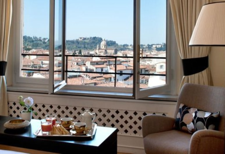 Tornabuoni Suites Collection, Florence, Suite (Belvedere), Uitzicht op stad