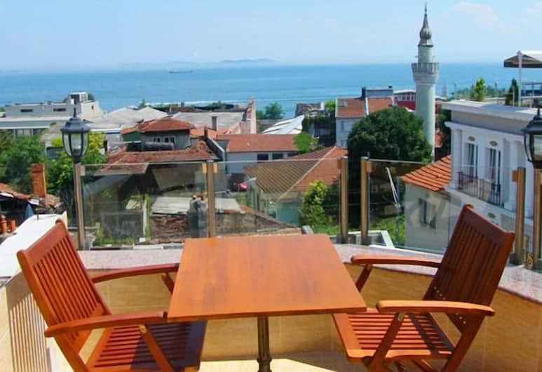 Agora Boutique Hotel & Bistro, Istanbul, Terrasse/veranda