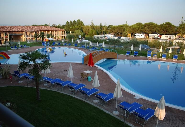 Hotel Bella Italia, Peschiera del Garda, Vaade õhust