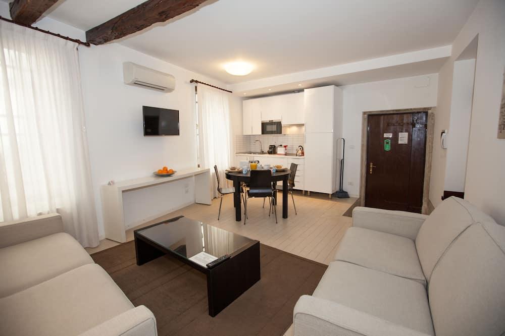 Appartement Familial, non-fumeurs - Coin séjour