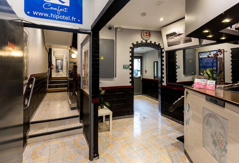 Hipotel Paris Belleville Gare de l'Est, Paris, Vestibyle