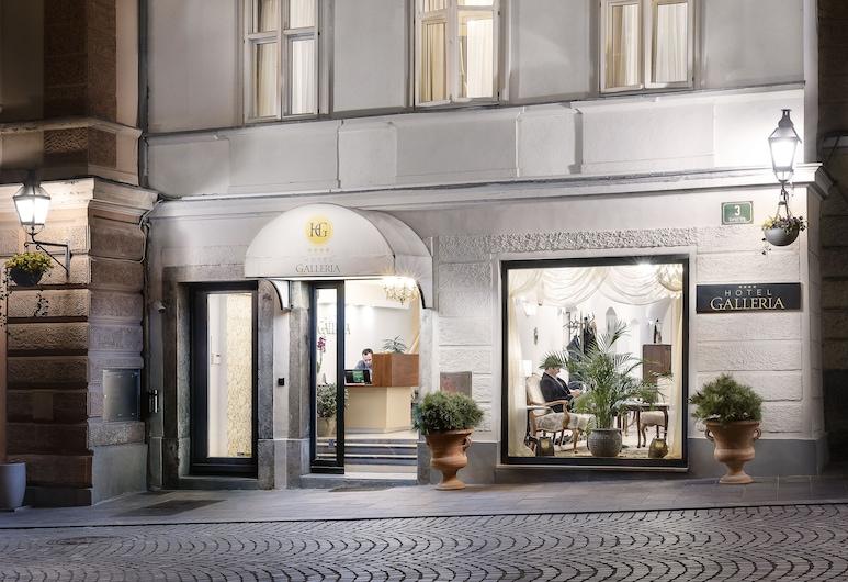 Hotel Galleria, לובליאנה, הכניסה למלון