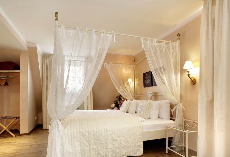 Hotel Sonne, Füssen, Habitación romántica doble, Habitación