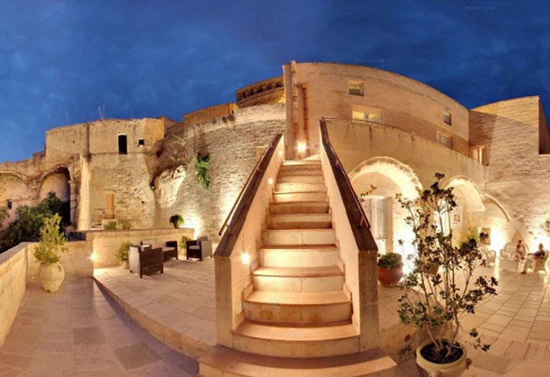 Caveoso Hotel, Matera, Facciata hotel