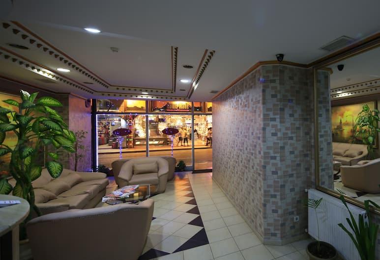 Kafkas Hotel, Istanbul, Lobby Sitting Area
