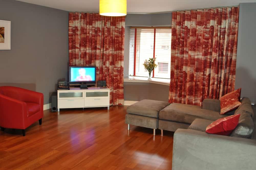 Departamento, 2 habitaciones (Extended Stay) - Sala de estar