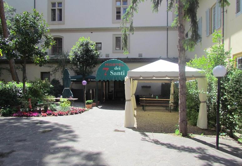 Ostello 7 Santi, Florens, Trädgård