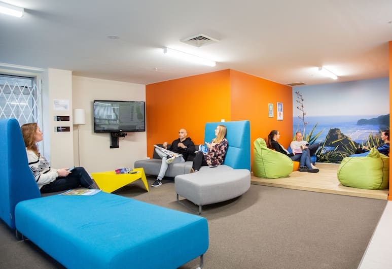 City Lodge Accommodation - Hostel, Auckland, Lobby Lounge