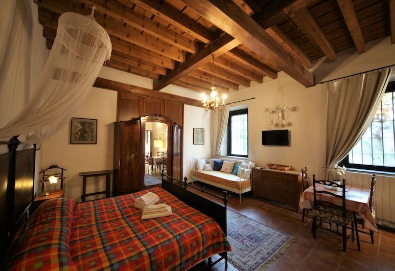 米勒尼茲科爾特安蒂卡飯店, 諾瓦泰米拉內塞, 雙人房, 客房