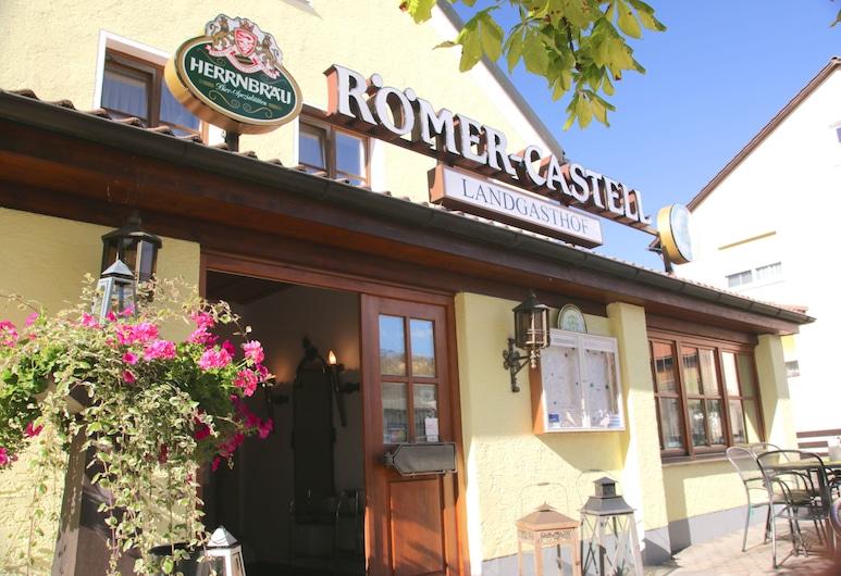 羅梅爾 - 卡斯特利酒店, 基普芬貝格, 酒店入口